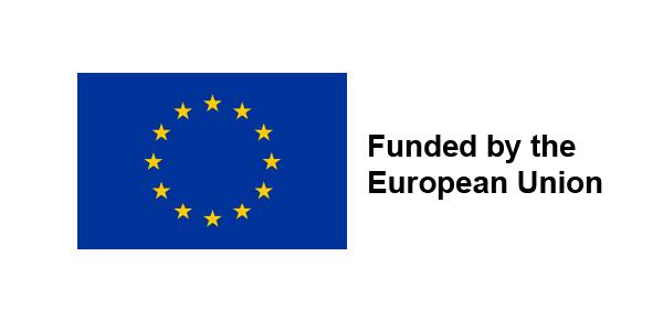 European union logo. A founder.